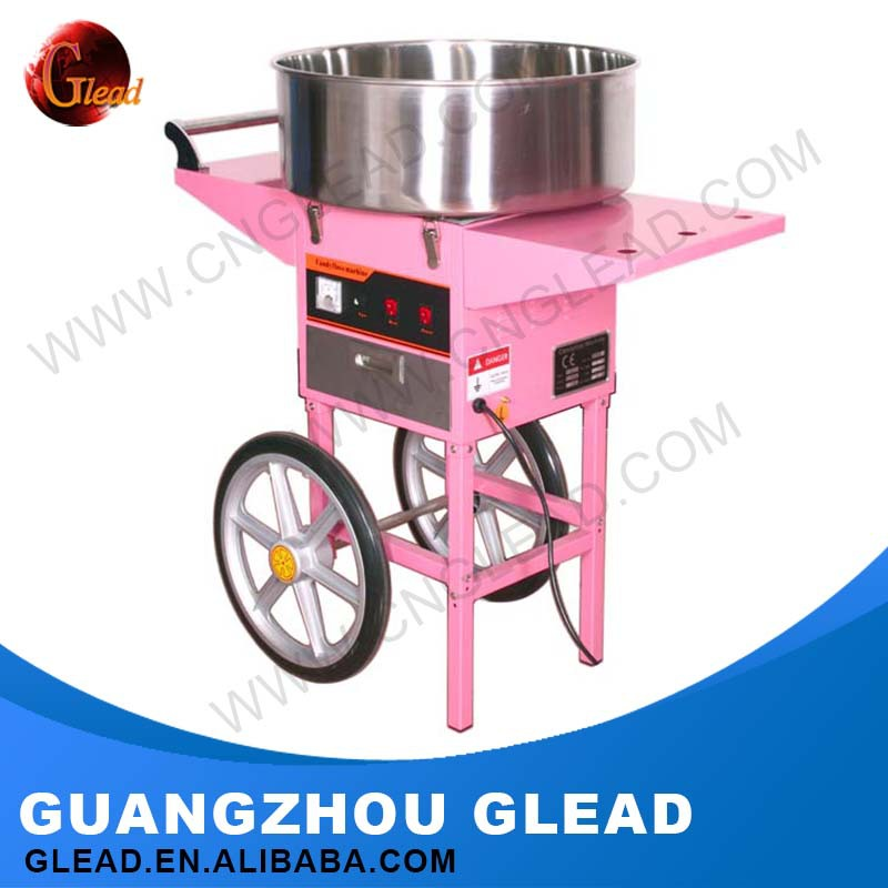 CE Approval Floss Flower Vending Automatic Cotton Candy Machine