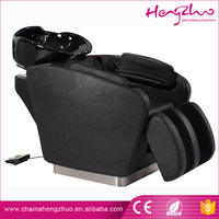 High quality modern hair salon shampoo chair / air massage shampoo bed