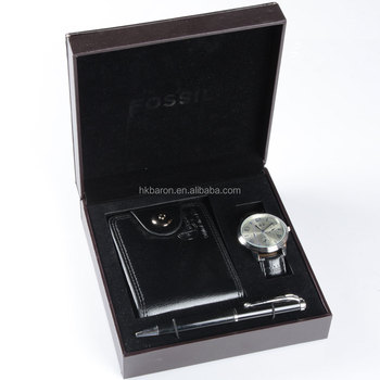 luxury charm pen and wallet man watch gift for men watches