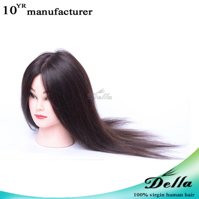 cosmetology beauty school 100 real human hair doll head barber training head