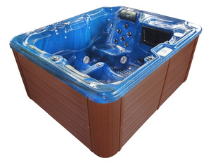New design Simple high quality spa for outdoor garden hot tub with Balboa