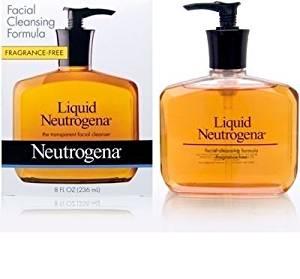 Neutrogena Fragrance Free Liquid Neutrogena, Facial Cleansing Formula, 8 Ounce