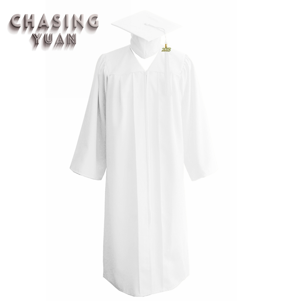 White Graduation Cap And Gown, White Graduation Cap And Gown ...