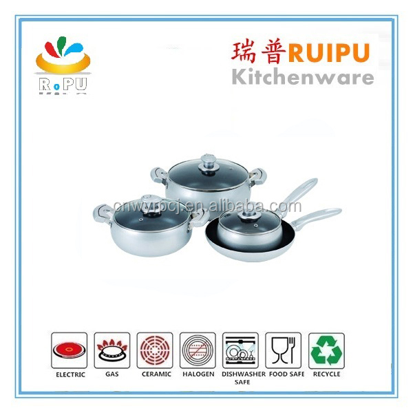 2016 new products industrial kitchen equipment used glass cookware vision,thermal pot,belly saucepan