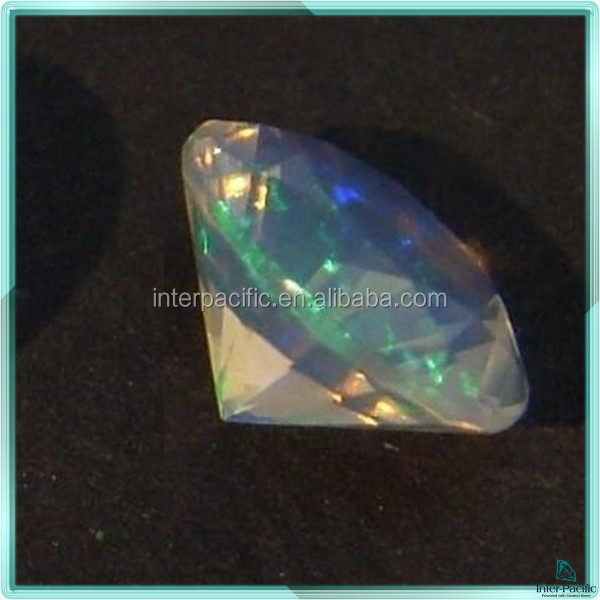 Hot sale fashion faceted gemstones diamond cut opals