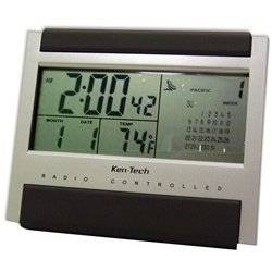 Atomic Radio Controlled LCD Alarm Clock