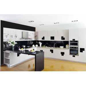 HOT SALE 2019 New Model Australia Bespoke Custom White Lacquer Modern Kitchen Cabinets