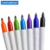 Environmentally Ink Plastic 92x12mm Small Waterproof Mini Permanent Marker