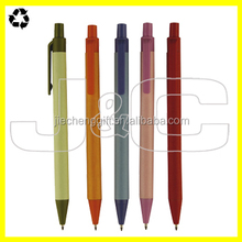 2016 Eco friendly colorful paper ballpen in low price with high quality for promotion
