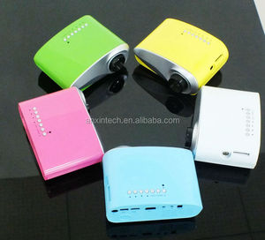 Different color Cheap Price smart Chirstmas projector mini google chrome cast for tv screen or projector