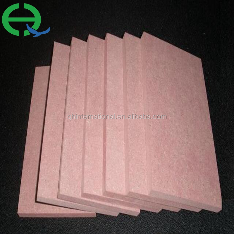 fire proof MDF / fire rated mdf board / fire resistant MDF sheet