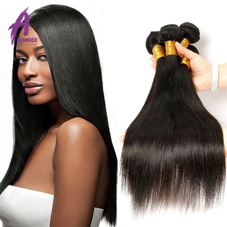 Wholesale Raw Grade 12A Peruvian Human Hair Weave Bundles,100% Unprocessed Raw Virgin Cuticle Aligned Straight Hair
