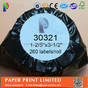 thermal label 36*89mm dymo compatible 30321 label