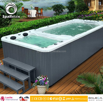 Hot Selling Imported USA Acrylic Balboa Freestanding Swim SPA Pool ...