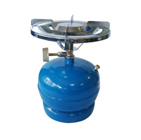 cheap nigeria price portable small 3kg gas cylinder with burner