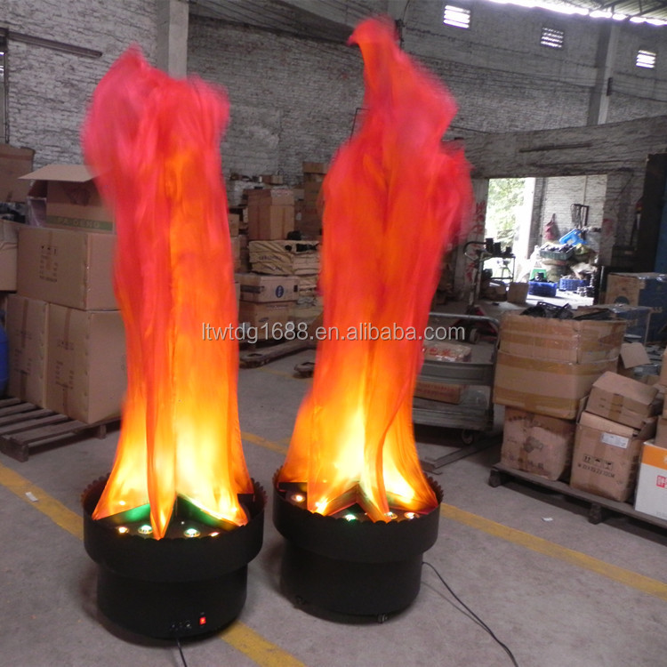 Foshan Yilin Solar Fake Fire Led Silk Flame Light - Buy Led Flame ...