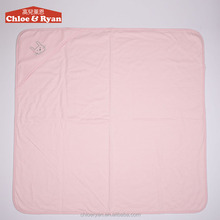 100% cotton weave and polyester 6~9 months newborn pink baby quilt designs