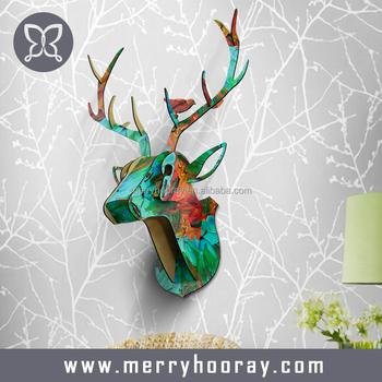 Deer Head Wall Art modern animal head home decor,deer head wall art decor - buy home
