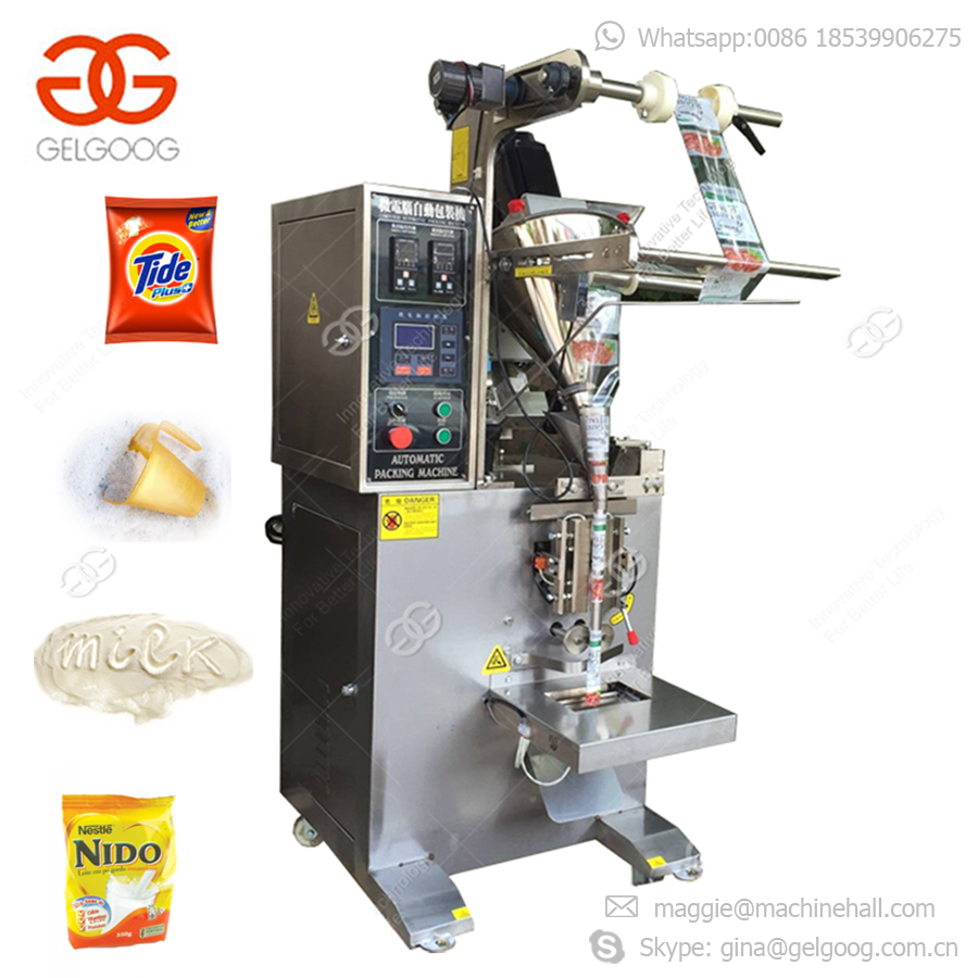 High Quality Detergent Snus Washing Powder Filling Spice Sugar Packaging Automatic Powder Packing Machine With Weighing Function