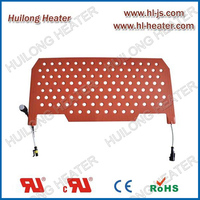 Heating pads for EV battery