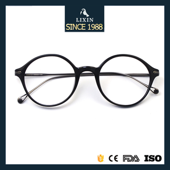 New Style Men Vintage Round Frame Eyeglasses Women Retro Spectacles ...