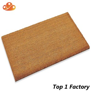 Thick Coconut mat great for recessed area entrances