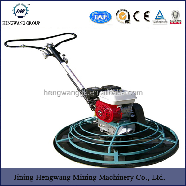 construction tools power trowel concrete finishing machine