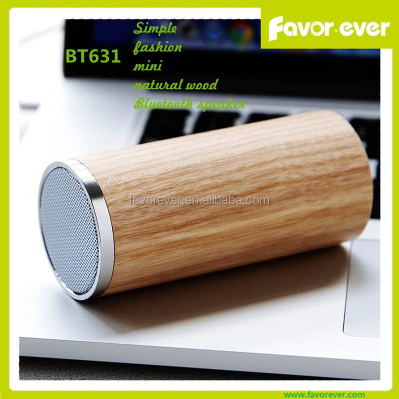 2016 Newest Ultra Portable Pocket Size Wooden Wireless Bluetooth Speaker with 8 Hours Playtime Passive Subwoofer Audio <strong>Player</strong>
