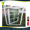 Aluminium clad aluminium french casement window/high quality french casement window
