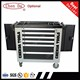 High quality new designed 6 drawers metal tool cabinet/tool trolley/drawer cabinet with tools