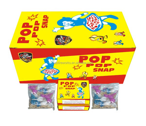 popular novelty wholesale fireworks toy pop pop snap