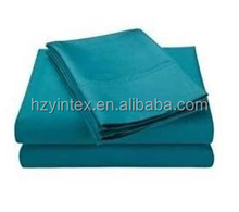 Blue Nile Mills Cotton Rich Solid Sheet Set, Teal, Twin