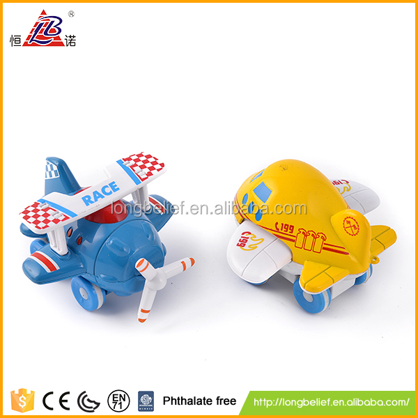 Competitive price red push back plane/car toy for kids