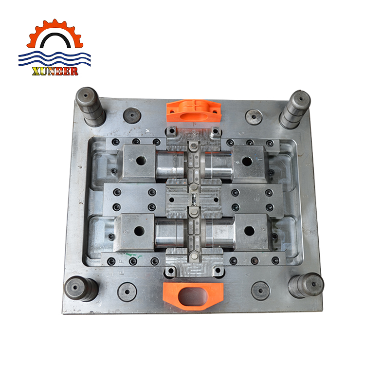 injection molding for Motor power connector plastic parts plastic injection mold making