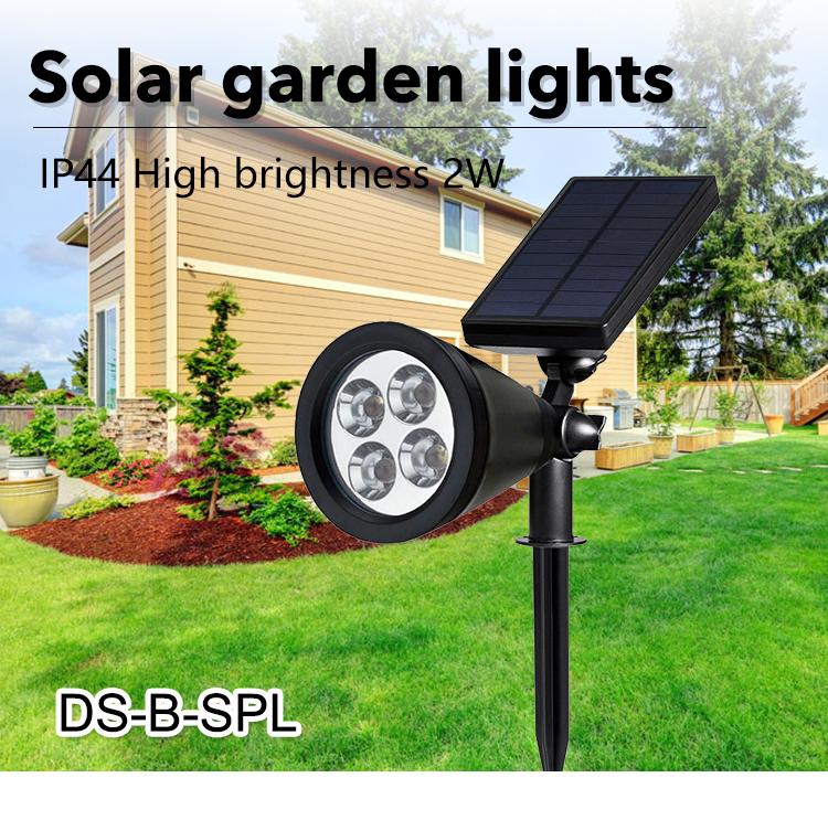High Quality Hot Sale Outdoor Bollard Lawn Lighting Ip65 1w 3w 5w Solar Led Garden Light