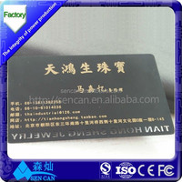 2016 new innovative products interesting promotions metal visiting card for personal use
