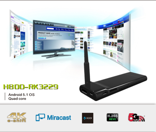4K <strong>HDMI</strong> <strong>TV</strong> Stick,Android 5.1 OS <strong>Tv</strong> <strong>box</strong> ,RK3229 with 1GB RAM 8GB ROM ,Blutooth <strong>TV</strong> <strong>Dongle</strong>