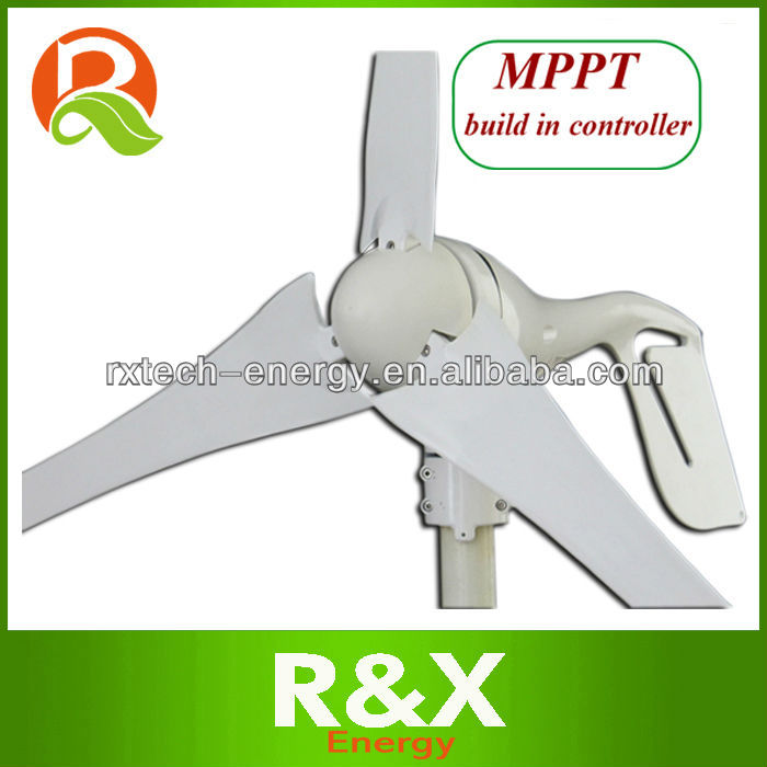 220 volt wind generator with MPPT build in controller.400w rated, 600w max.