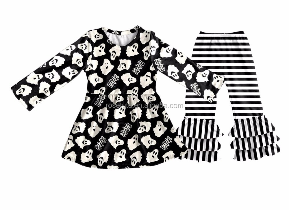 Something that suits you will grow up. Halloween wear will be worn in pure cotton wholesale children's boutique clothing yiwu