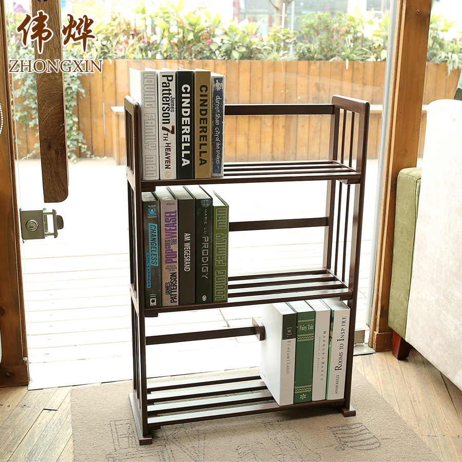 Cheap Brown Paint Wooden Bookshelf In Malaysia