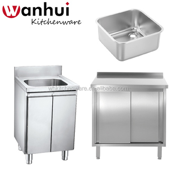 Ready Made Stainless Steel Cheap Kitchen Sink Cabinets