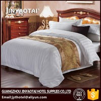 specialized in supplying bed sheet set /hotel bed cover/hotel bed scarf
