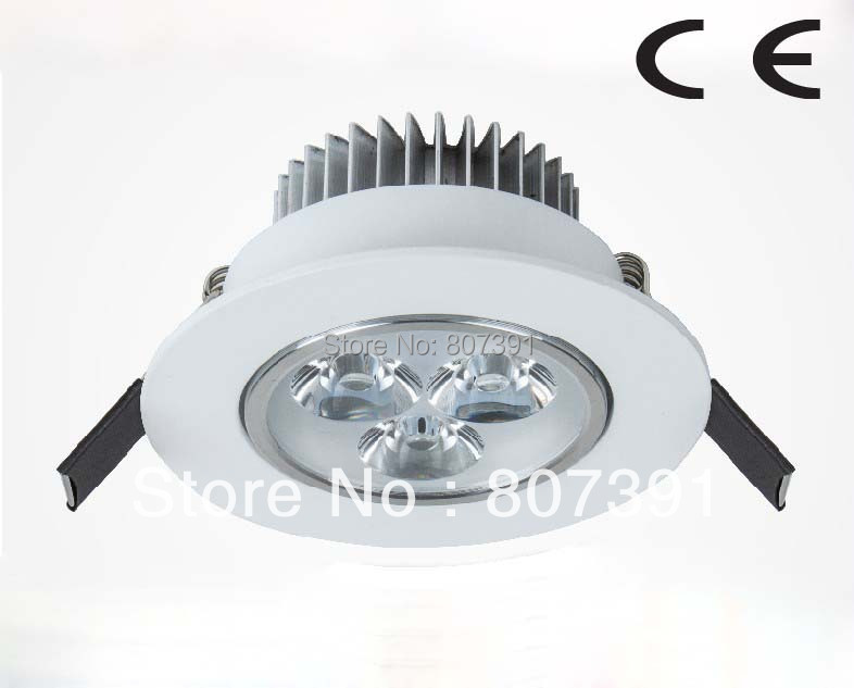 2 year warranty Epistar 3w Led White Celling Lamp / 3w Led White Celling Light White Shell CE & RoHS