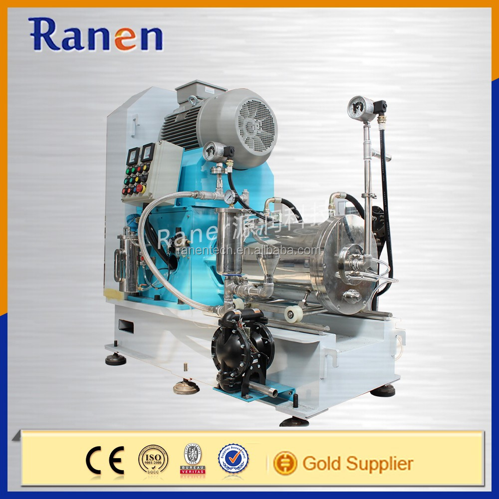 Ranen high grinding efficiency pin type horizontal pearl mill