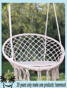 Hanging Rope Round Hammock Swing Chair Buy Round Hammock