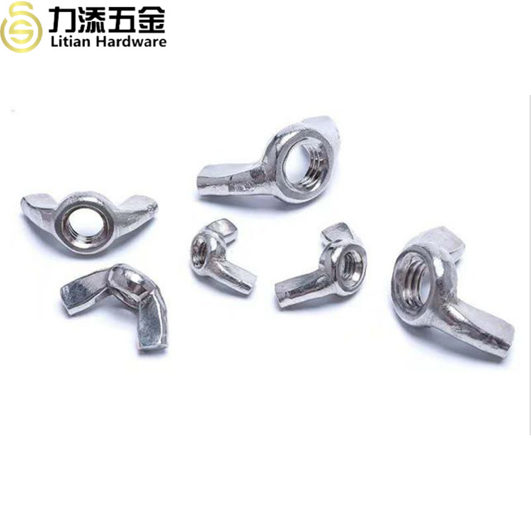 High quality DIN315 stainless steel thumb bolt wing and nut butterfly