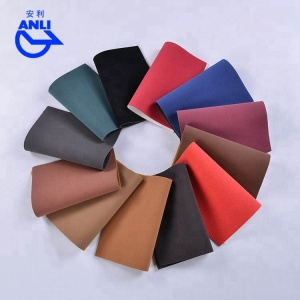 Customized colors 100% pu synthetic leather,semi pu leather 1 meter