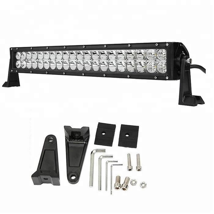 פבריקה רכב הוביל אור בר Barra 22 אינץ 120 W Focos faros Luces automotrices אוניברסלי acesorios autoparte האוטומטי para קארו