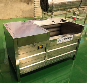 Commercial used sweet potato peeler and slicer machine for sale
