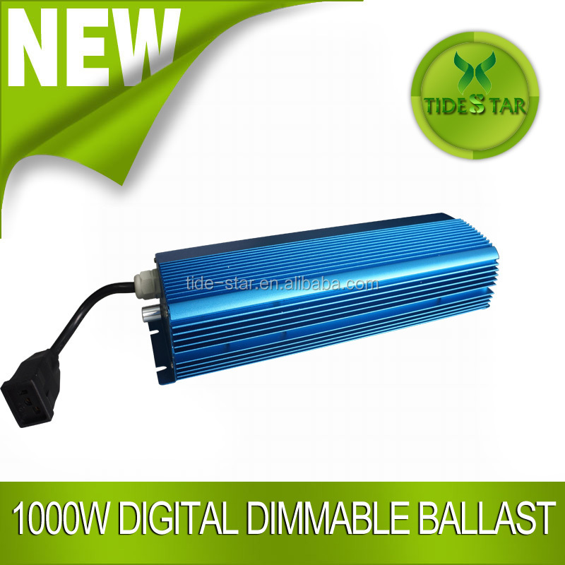 Hydroponic plants Dimmable digital 1000w HPS/MH HID Ballast